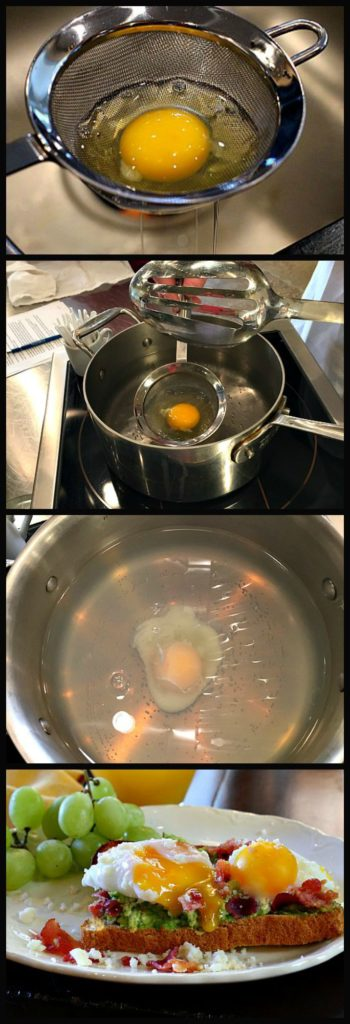 How to poach an egg like a professional Chef. Perfect poached eggs