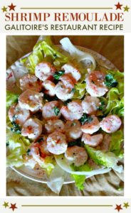 Galitoires Restaurant Shrimp Remoulade Recipe