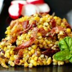 Toasted Sweet Corn with Pancetta and Sage