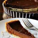 Super Easy Chocolate Tart Dessert Recipe