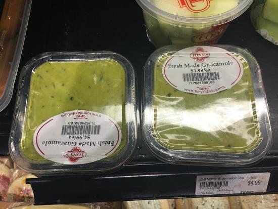 Tony's Guacamole