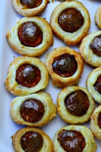 Upscale pigs in blanket appetizer recipe