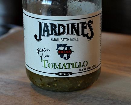 A great tomatillo sauce for tacos or burritos