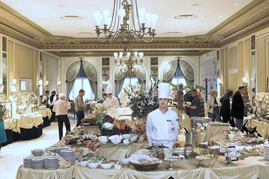 Brunch Buffet at the Broadmoor Hotel