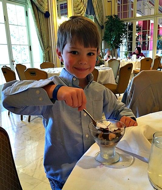 Hot Fudge Sundae from the Broadmoor Brunch