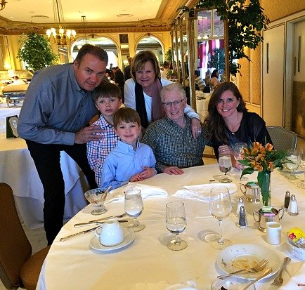 Sunday Brunch at the Broadmoor Hotel