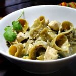Hatch Green Chile Pasta with Chicken