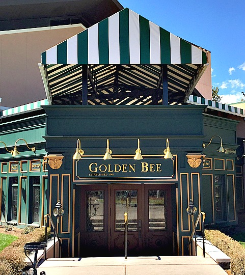 The Golden Bee at the Broadmoor