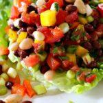 White Black Bean Salad