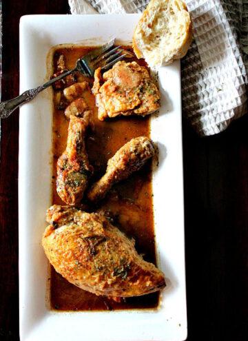 Dolore's Broken Hearted Chicken.
