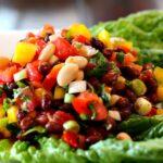 Cucina Bean Salad. A Mexican salad side dish