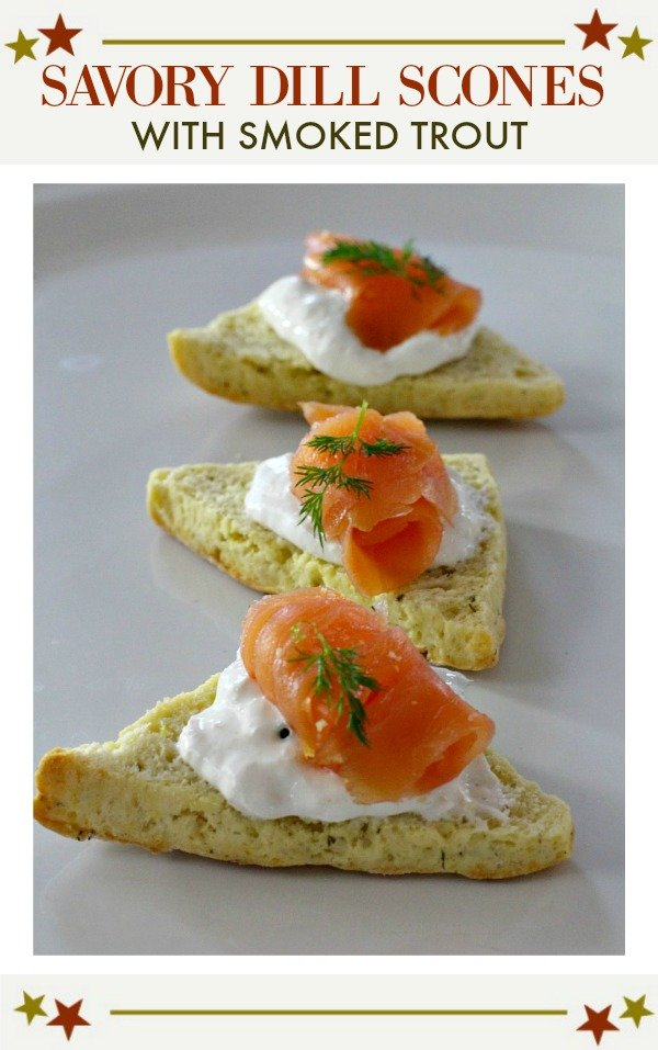 Savory Scones Appetizer