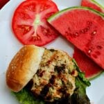 Jazz up those Summer burgers with these Green Chile Chicken Burgers. Oozing with green chile and Southwestern flair.