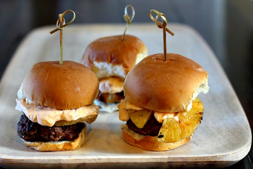 Smoky sliders with Chipotle Mayonnaise. Wonderful in flavor, in every way.