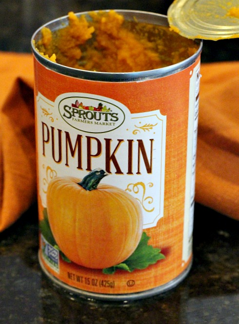 Sprouts canned pumpkin puree.