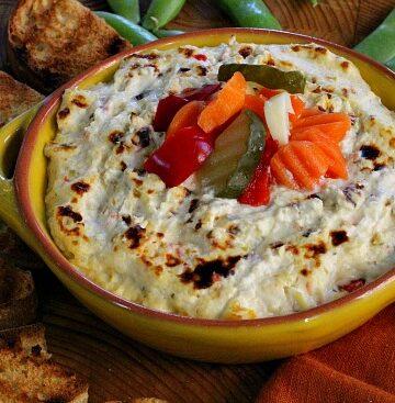 Elways Restaurant appetizer recipe. Elways Artichoke dip.