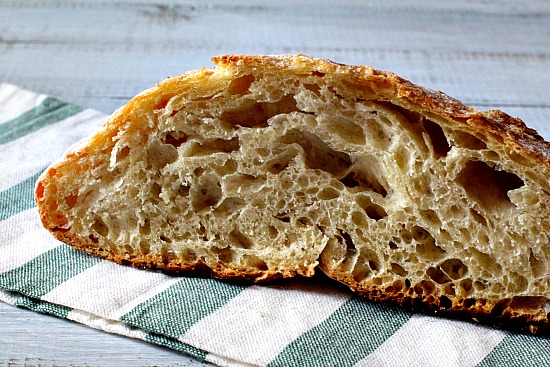 Jim Laheys no knead bread recipe. Easy bread recipe.