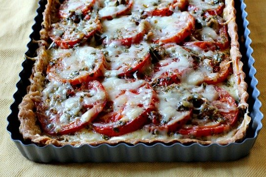 Ina garten tomato tart fresh tomato tart recipe with Ina garten goat cheese tart