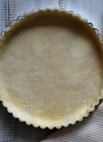 How to make pie crust or tart shell recipe