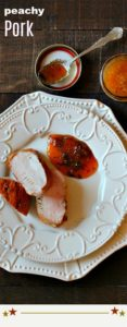 Easy Pork Tenderloin with Peach Sauce Recipe