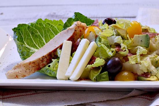 Aspen Villager Chicken Salami Salad