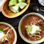 Bourbon Beef and Bean Chili