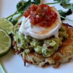 Hash Browns Guacamole Poached Eggs Breakfast