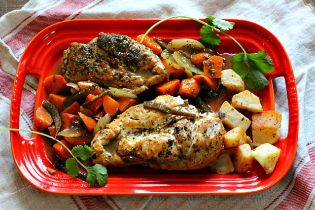 chicken in tangy escabeche cooking on the ranch. Black Bedroom Furniture Sets. Home Design Ideas