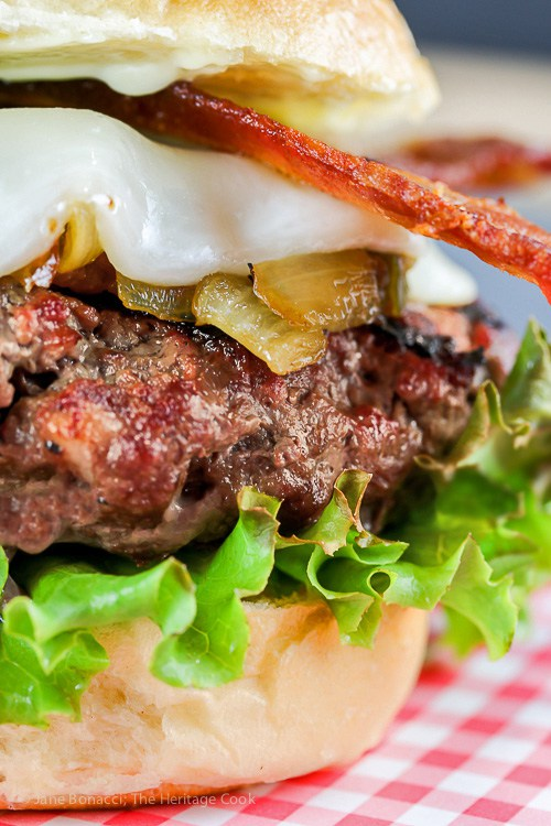 Southwestern Santa Fe Burger, best burger recipes for Father's Day