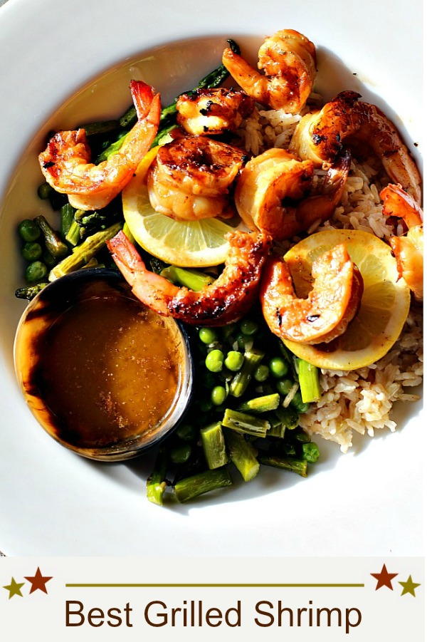 The best grilled shrimp recipe