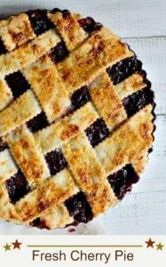 Culinary Institute Fresh Cherry Pie Recipe