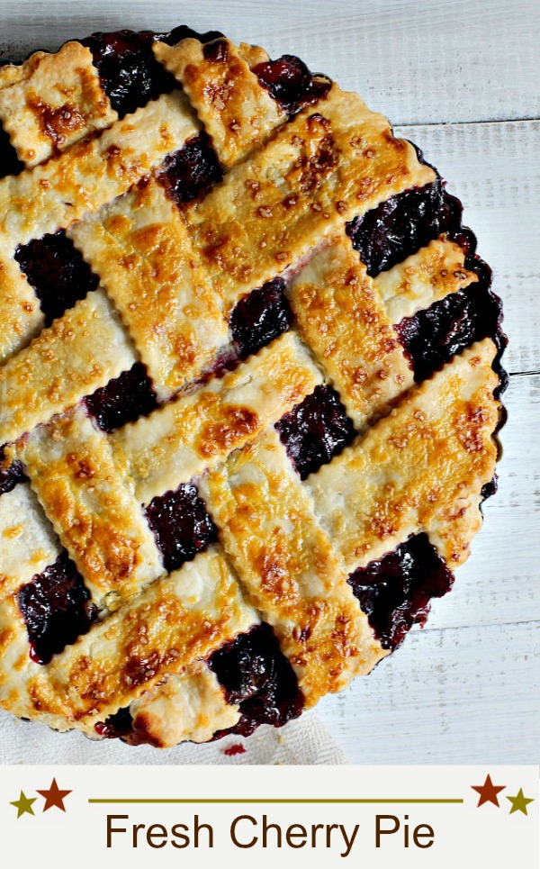 Culinary Institute Fresh Cherry Pie Recipe