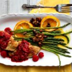 Silver Palate Chicken Cutlets with Raspberries