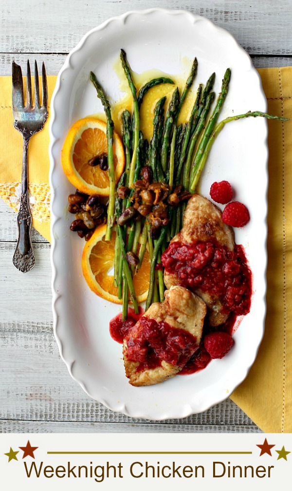 Easy week night chicken dinner