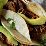 Achiote Shredded Pork Tacos
