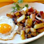 Home Fried Potatoes with Ham