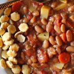 Mayocoba Bean Soup with Potatoes