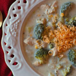 Easy Cheesy Vegetable Chicken Chowder