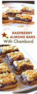 Raspberry Bars with Chambord