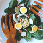 Crunchy Spinach Salad With Bacon