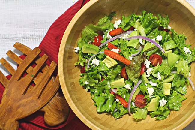 Secrets to the perfect tossed salad recipe
