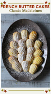 French Butter Cake Madeleine Recipe