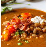 chicken chickpea chili with white beans