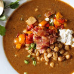 Chickpea White Bean Chicken Chili Recipe