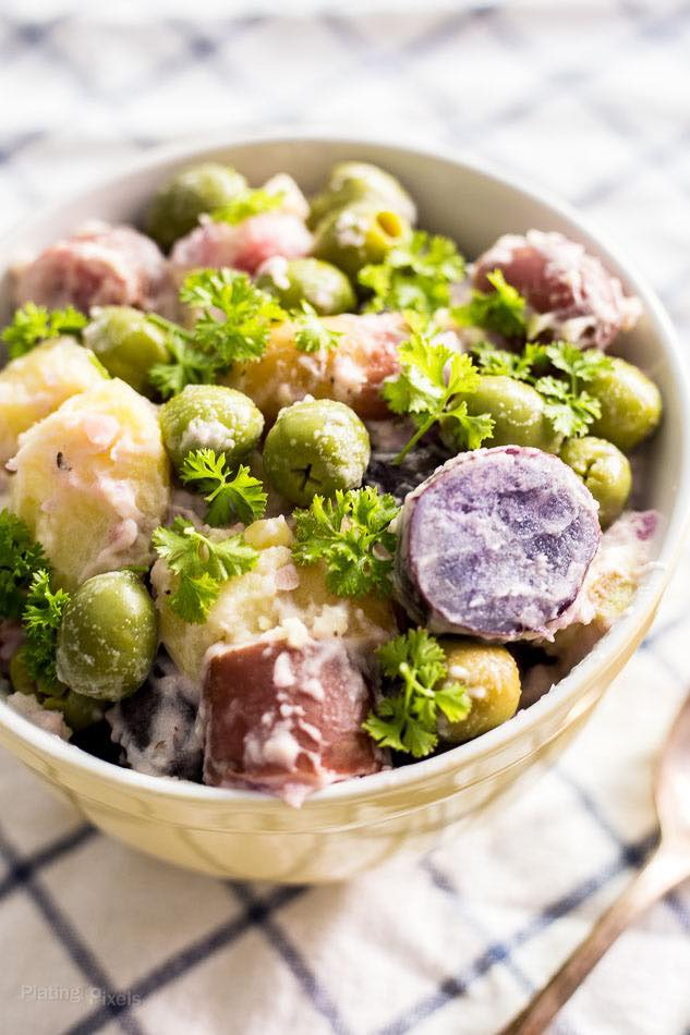 Green Olive Potato Salad