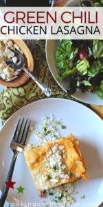 Green Chili Chicken Lasagna Recipe