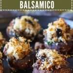 Stuffed Mushrooms Balsamico